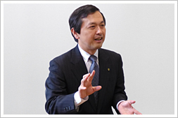 Kazuhiko Kamada President, Forest Resources and Environmental Marketing Company